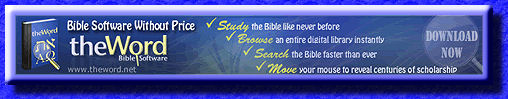 The Word Bible Software Without a Price!